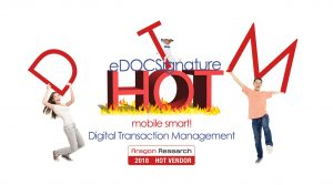 eDOC Innovations named Hot Vendor 2018 for DTM