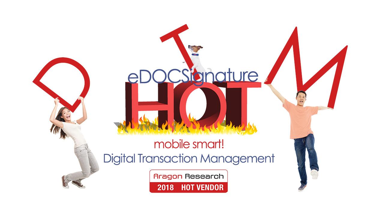 eDOC Innovations named Hot Vendor 2018 for DTM
